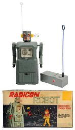 radicon robot, masudaya, japan, japanese, battery operated toys, ebay vintage space toys for sale, space toy museum appraisals, vintage space toys for sale inquire,  space toys, vintage space toys, ebay space toys appraisals, tin toy robots, flying saucer, space ship, toy appraisals, nomura, alps, space patrol, vintage space toys auctions, buddy l museum space toy museum facebook space toys for sale, ebay space toys for sale free appraisals, robby robot