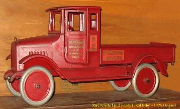 Buddy L Red Baby with Doors aka Buddy L International Harvester Truck Buddy L Toys waned for immediate purchase. Buddy L Museum buying antique Buddy L Toys Free Toy Appraisals Visit us today